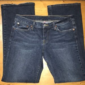 Lucky Brand Midrise Flare Jeans Size 8